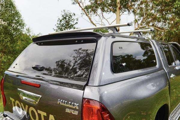 Product: Hardtop Aeroklas with side opening windows Toyota