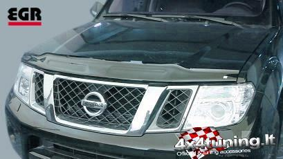 Product Hood Guard Nissan Pathfinder 2010 4x4 Tuning