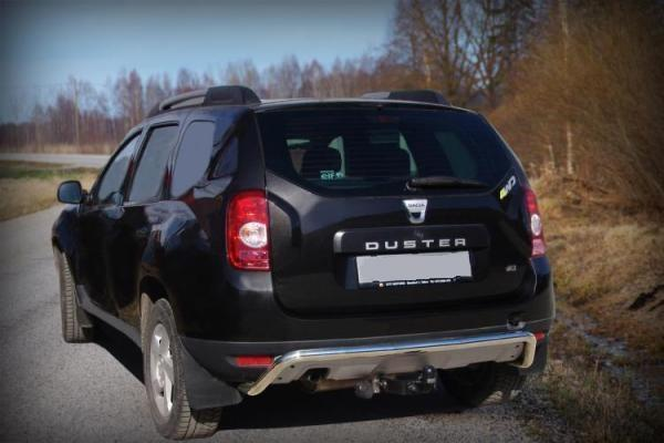 Product Rear Bumper Protection Pipe Dacia Duster 4x4 Tuning
