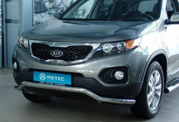 product front protection pipe kia sorento 2010 4x4 tuning. Black Bedroom Furniture Sets. Home Design Ideas