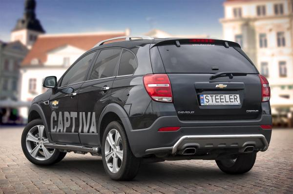 Product: Rear protection Chevrolet Captiva 2013 | 4x4 TUNING
