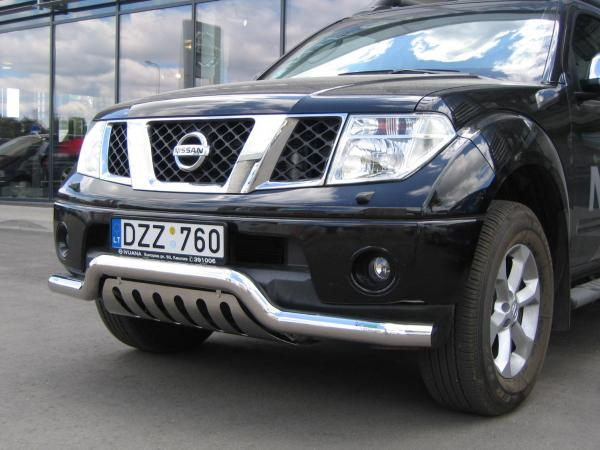 Product Eu Frontbar Low With Urp Nissan Navara 05 10