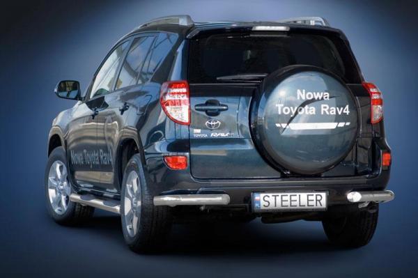product rear bumper protect toyota rav4 4x4 tuning. Black Bedroom Furniture Sets. Home Design Ideas