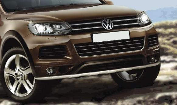 Bumper Plates For Sale >> Product: Front bumper skid plate VW Touareg 2011- | 4x4 TUNING