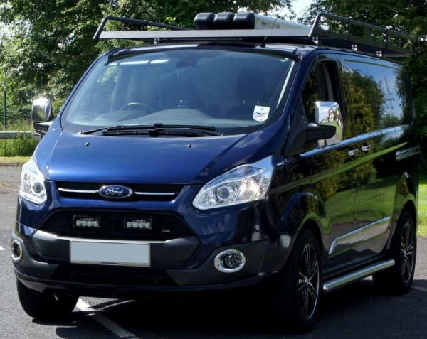 Product Grill Kit With Lazer St 4 For Ford Transit Custom