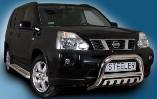 2007 Nissan Murano >> Product: EU frontguard with axle plate Nissan X-Trail T31 ...
