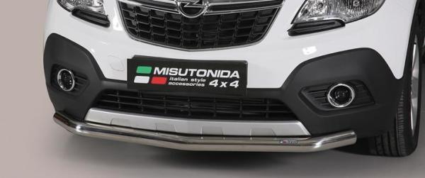 Bumper Guard For Suv >> Product: Low spoiler bar Opel Mokka | 4x4 TUNING