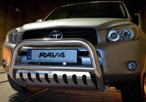 Product: Front guard with URP Toyota RAV4 2006-10 | 4x4 TUNING
