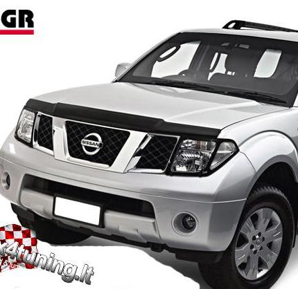 product hood guard nissan pathfinder 2005 2010 4x4 tuning. Black Bedroom Furniture Sets. Home Design Ideas