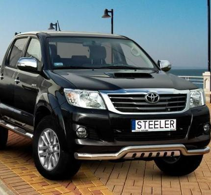 Bumper Plates For Sale >> Product: Front bumper protection EU Toyota Hilux | 4x4 TUNING