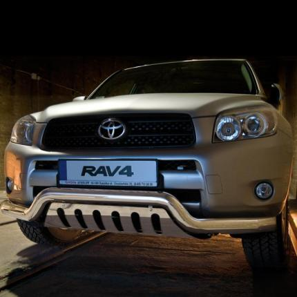 Product Ec Low Spoiler Bar With Axle Plate Toyota Rav4