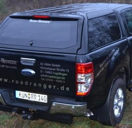 product hardtop roadranger rh4 special ford ranger 2012. Black Bedroom Furniture Sets. Home Design Ideas