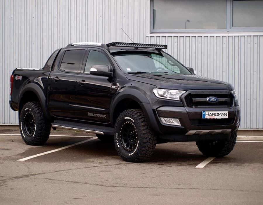 Galerija Ford Ranger With Adjustable Suspension New