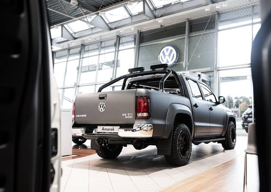Galerija Matte Grey Vw Amarok V6 Project 4x4 Tuning