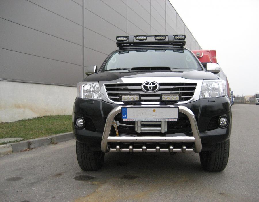 Galerija Toyota Hilux Project Lift Kit Roof Rack 6x