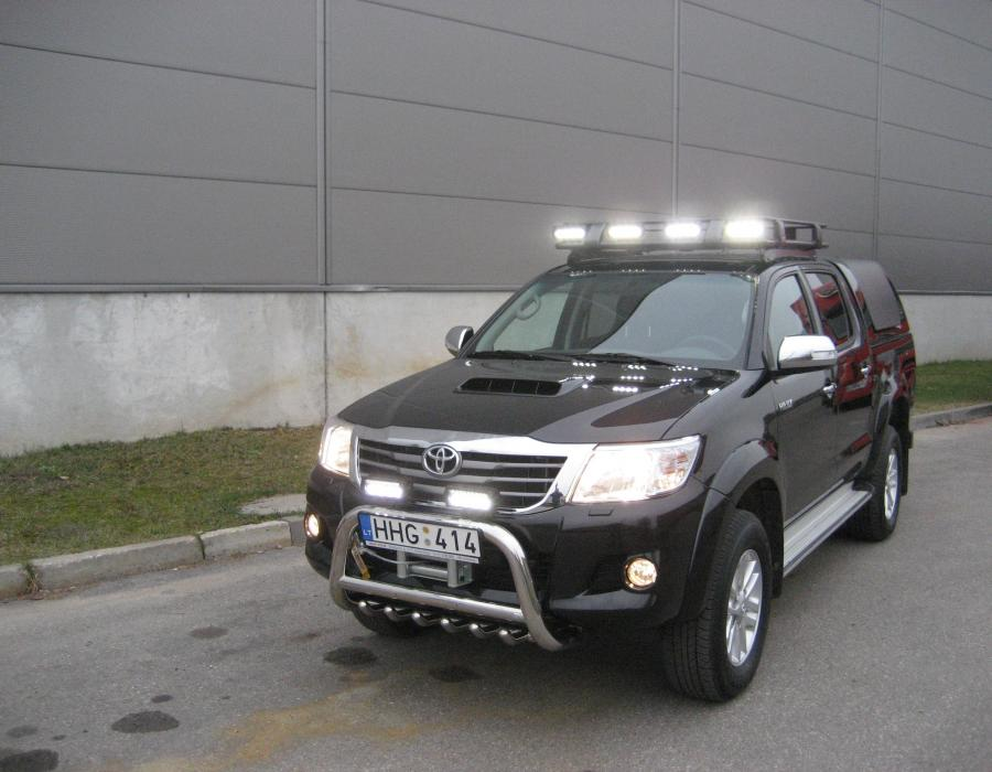 galerija toyota hilux project lift kit roof rack 6x lazer lamps 4x4 tuning. Black Bedroom Furniture Sets. Home Design Ideas
