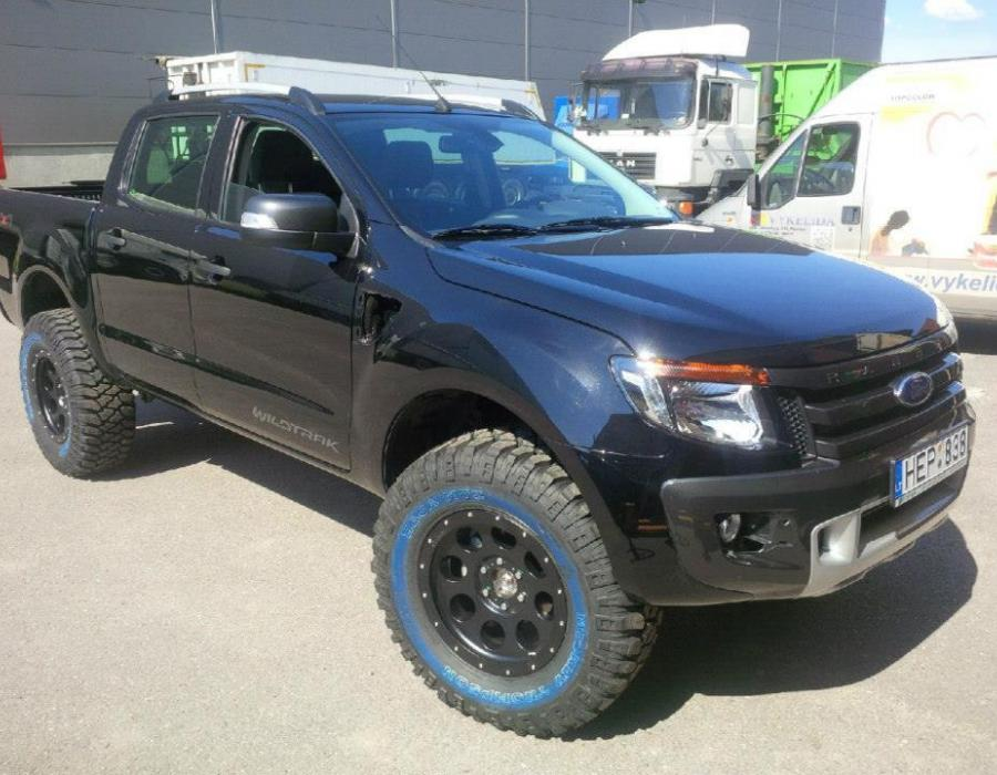 Galerija Ford Ranger For Dakar Off Road 4x4 Tuning